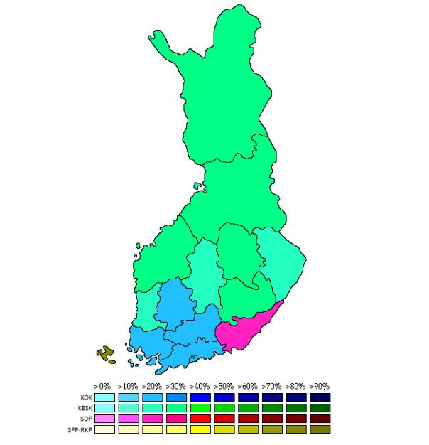 Finland EU 2009