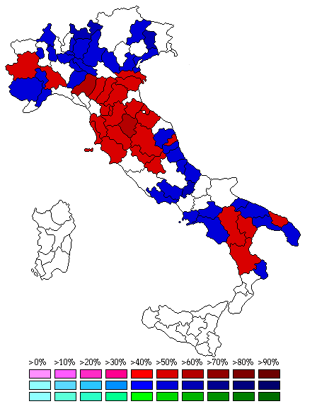 Italy 2009 Provinces - R1
