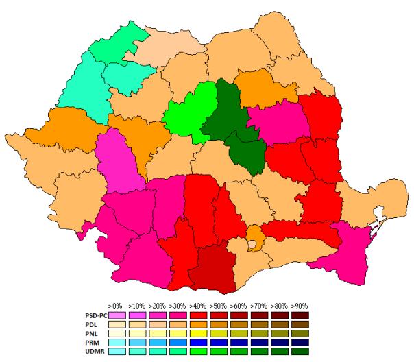 Romania EU 2009