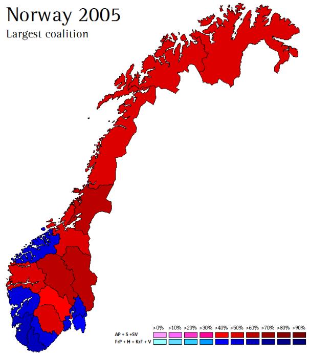 Norway 2005-2