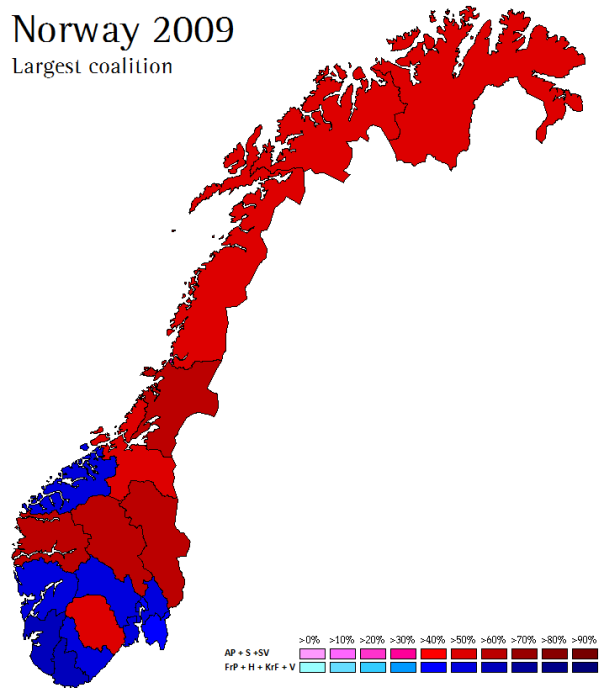 Norway 2009-2