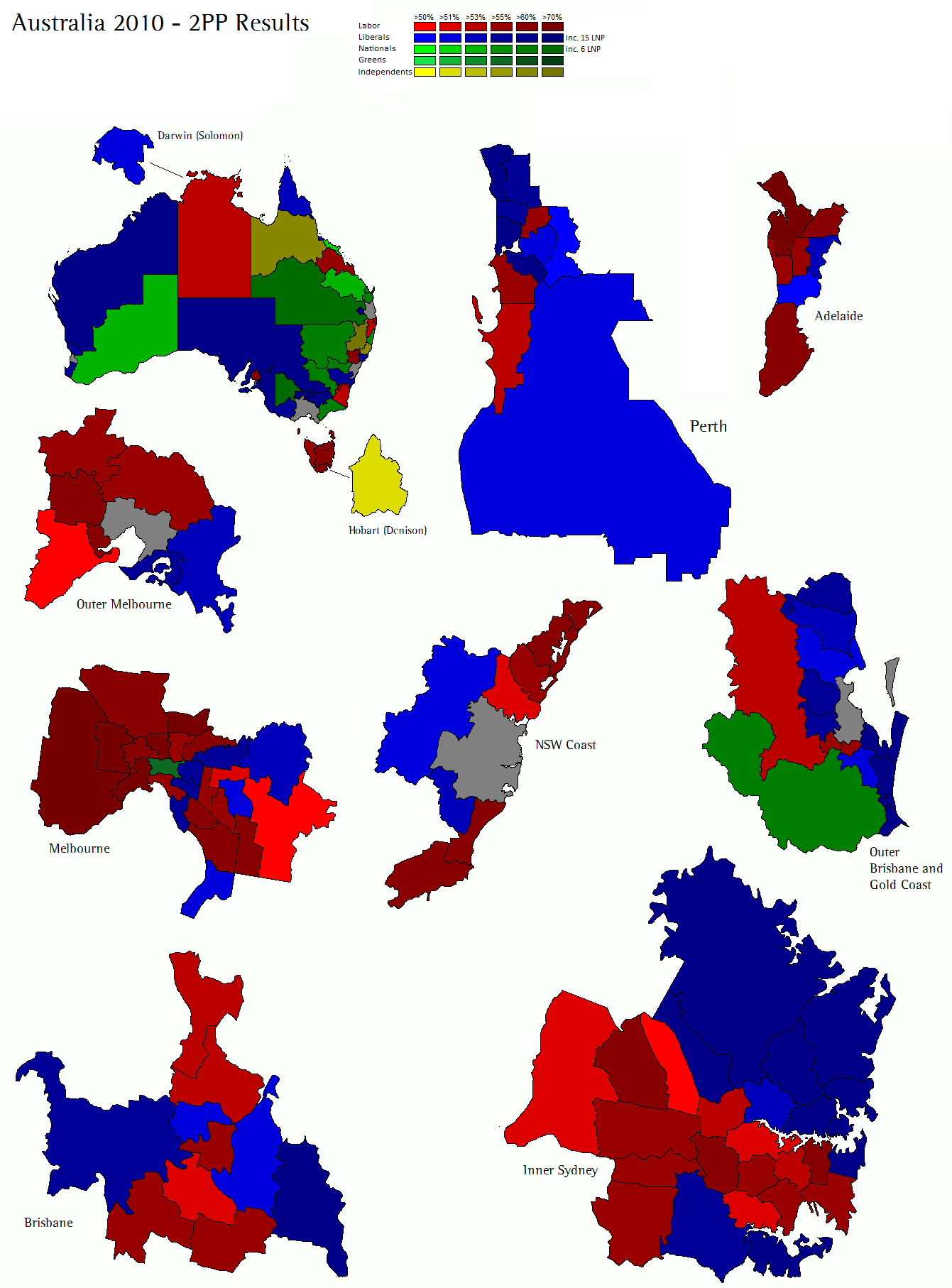 September World Elections - Sweden election map