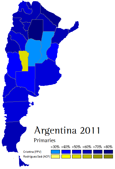 Argentina Election Map - Argentina election map