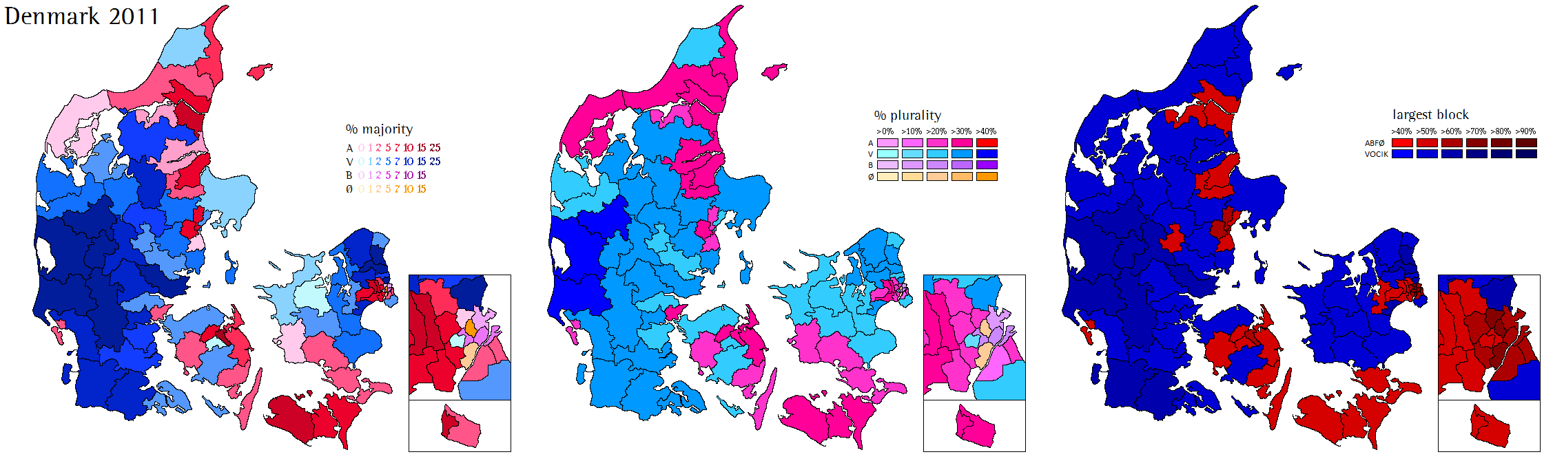 Denmark World Elections - Norway election map