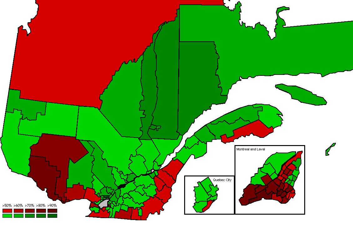 The effects of seperatism on small town English Quebec?