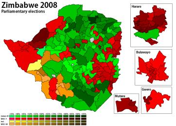 Zimbabwe 2008 - Parliament