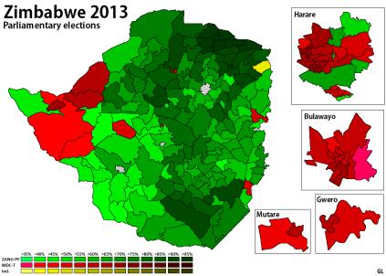 Zimbabwe 2013 - Parliament