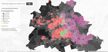 Results by precinct in Berlin (source: Berliner Morgenpost)