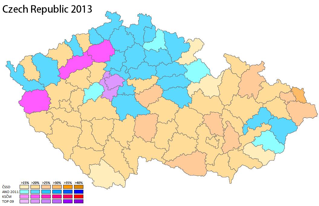 Czech Republic 2013 World Elections