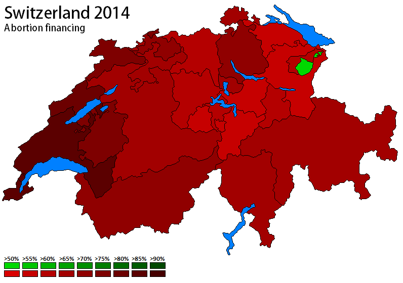 Switzerland 2014 - Abortion