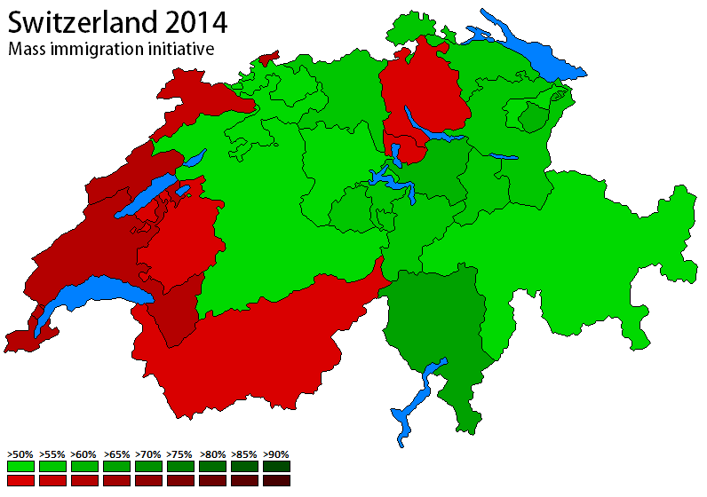 Switzerland 2014 - Mass immigrationb