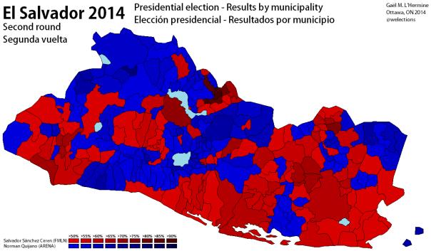 El Salvador 2014 [R2]