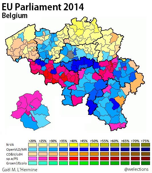 Belgium 2014 - EP