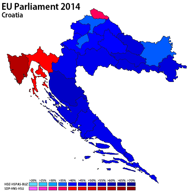 Croatia 2014 - EP