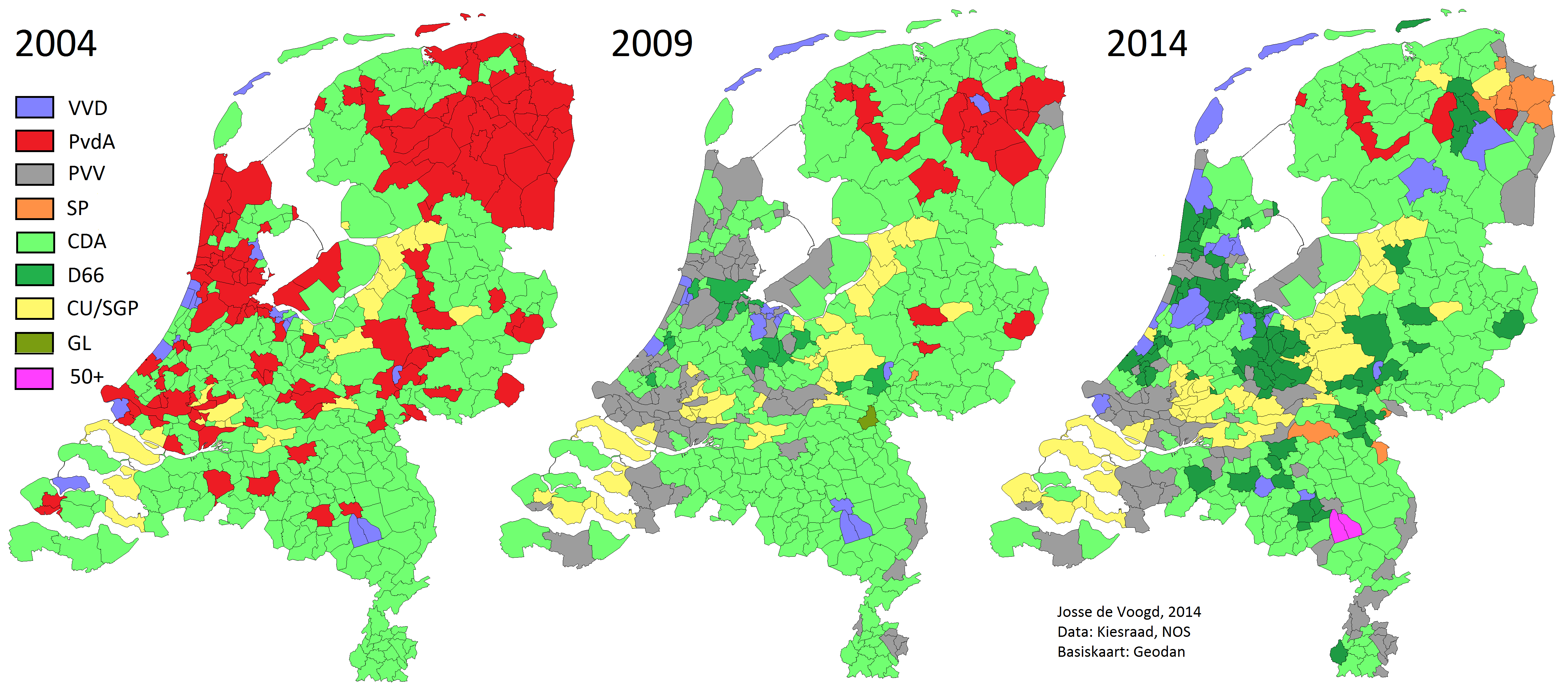 Netherlands World Elections - Religion map of world 2014