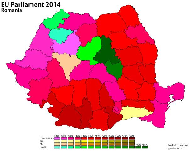 Romania 2014 - EP