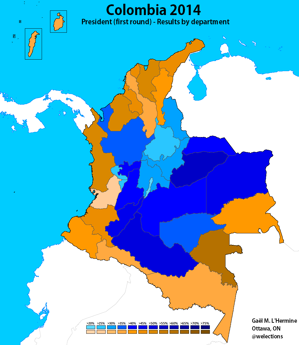 Colombia World Elections