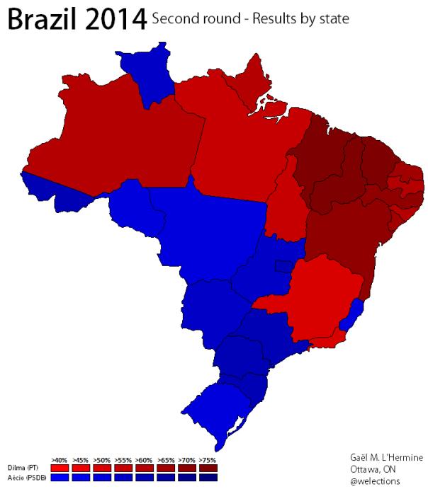 Brazil 2014 - Runoff