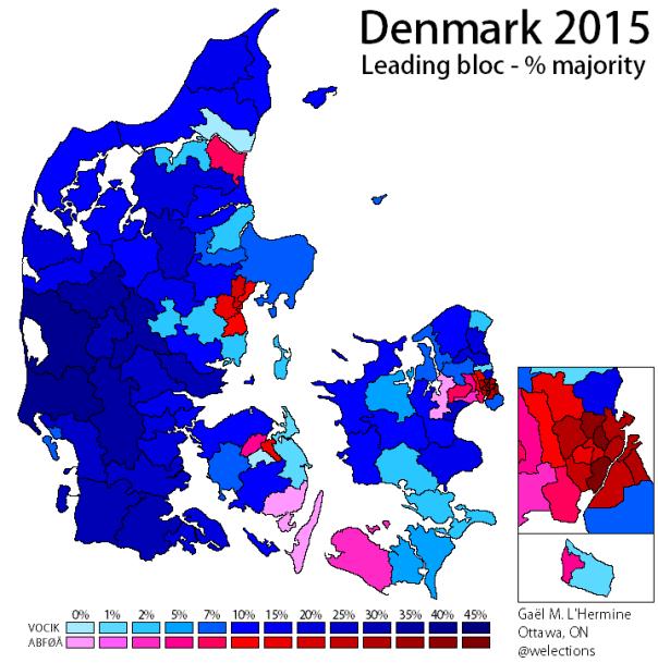 Denmark 2015 - Majority bloc