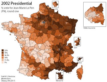 Presidential 2002 - Le Pen [R1]